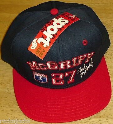 8866e931478 Atlanta Braves hat Vintage 90 s Snapback hat New with Tags nwt  27 McGriff