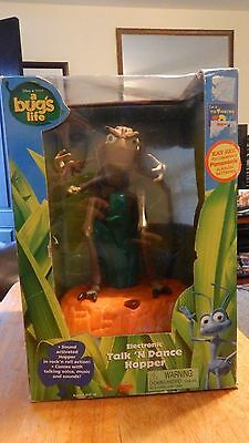 A Bugs Life TALK AND DANCE HOPPER New In Box RARE! Thinkway Electronic FREE SHIP