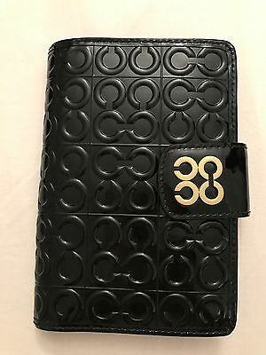 COACH 4X7 Embossed Agenda Planner 60690 B4/BK - authentic, new with tag