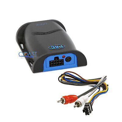 PAC 2 Channels Pro Car Audio Adjustable Output Converter With Remote Turn-on LP