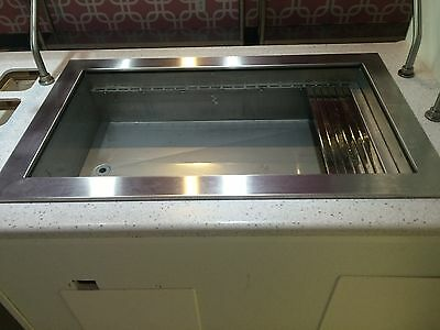 "Refrigerated Drop-in Stainless Steel Cold Well 22""x40"""