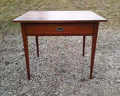 Antique Vintage Cherry Sheraton WORK Table Antique Circa 1840