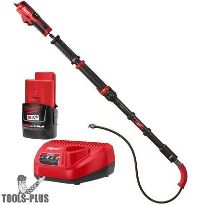Milwaukee 2576-21 M12 TRAPSNAKE 6' Toilet Auger Kit New