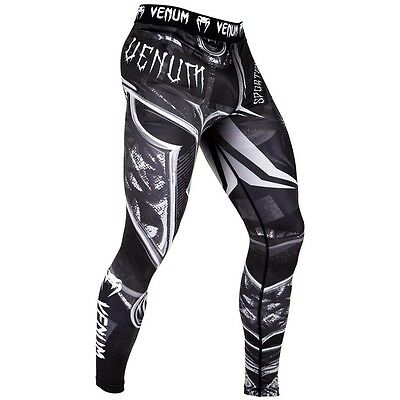 Venum Gladiator 3.0 Spats Tights MMA BJJ No-Gi Grappling Compression Bottoms Gym