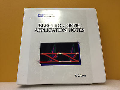 HP / Agilent Electro / Optic Application Notes