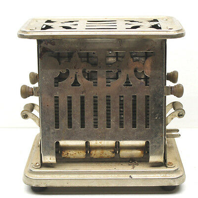 Antique Lander's Frary & Clark Universal Electric Toaster Flip Side Model E96412