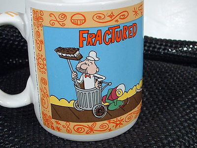 RARE-- FRACTURED FAIRY TALES  Cup -- Rocky&Bullwinkle Show -- TOO CUTE!