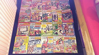 Roy of the Rovers Vintage Comic Joblot X 20  All From 1987