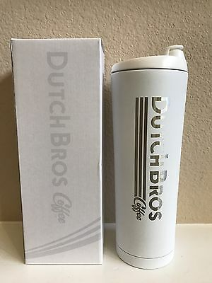 DUTCH BROS.- 20fl ozs stainless steel tumbler $46