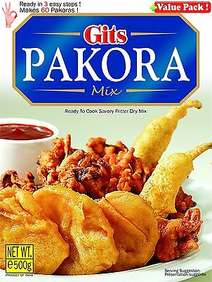 Gits Pakora Mix 500gm ready to cook