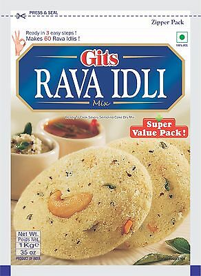 Gits Rava Idly mix 1kg ready to cook