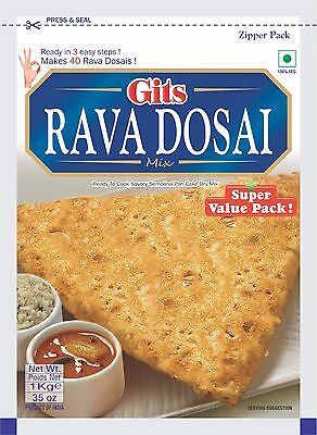 Gits Rava Dosa mix 1kg ready to cook
