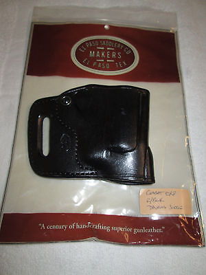 EL Paso Saddlery Leather Combat Holster Taurus Judge Concealment Belt Holster RH