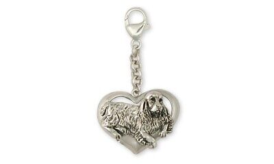Springer Spaniel Zipper Pull Jewelry Sterling Silver Handmade Dog Zipper Pull SS