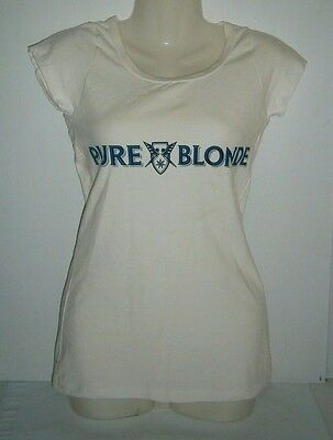 Pure Blonde Beer Ladies T-Shirt size 10 Brand New for home bar or collector