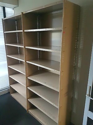 Large Steel Wall Storage Shelving