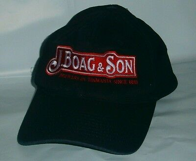 Original James Boags & Son brand new Embroidered hat cap home bar, collector