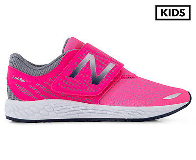 New Balance Pre-School Girls' Fresh Foam Zante v3 Shoe - Pink/Grey