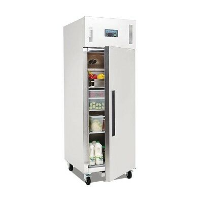 Polar Gastro Refrigerator Single Door Upright Stainless Steel - 600Ltr (UK)