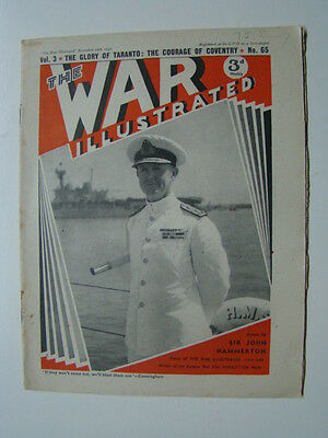 The War Illustrated Magazine WWII Photograph Cover Coventry Bombed 1940