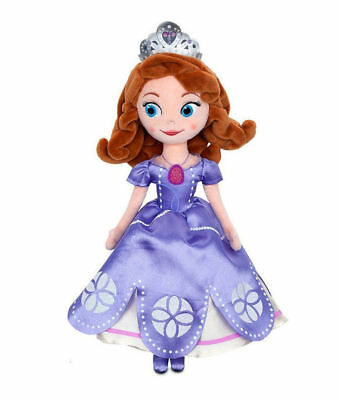 Disney 13Inch Sophia The First Once Upon a Princess Sofia Plush Doll Gift Toy