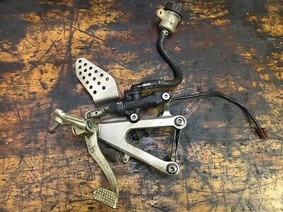 Yamaha R1 5Pw 2002 2003 Right Rearset Hanger Footrest Peg