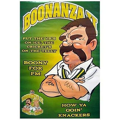 "VB Victoria Bitter Boonanza II ""Boony For PM"" Original Poster brand new"
