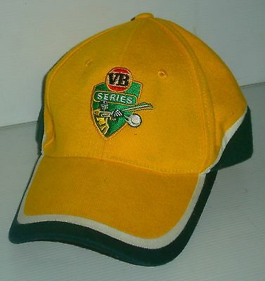 VB Victoria Bitter Beer brand new Cricket Series one size fits most hat cap