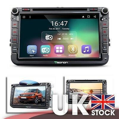 """Android 6.0 8"""" Car GPS w/ Mutual Control Easy Connection for Volkswagen (VW)"""