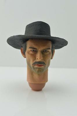 Redman Cowboy B Head (Lee Van Cleef) 1:6th Scale Accessory