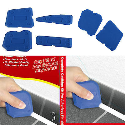 4Pcs Joint Sealant Silicone Grout Caulk Tool Set Remover Scraper Applicator Kits