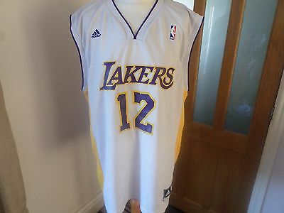 Lakers Howard 12# Basketball Jersey Size Large Mens