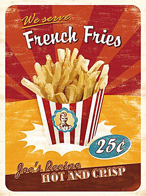 Magnet French Fries, 6 x 8 cm