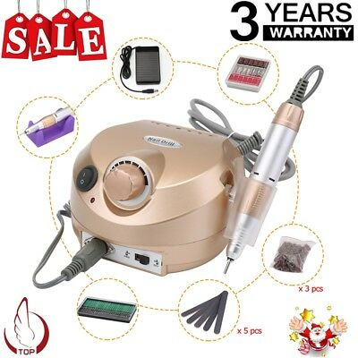 Professional Electric Manicure Nail Art Machine Tool Pedicure Drill File Kit Set