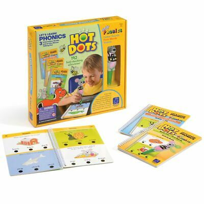 Learning Resources Hot Dots Let's Learn! Phonics Starter Set for Children – NEW