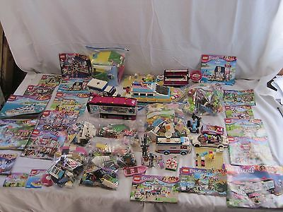 HUGE LEGO FRIENDS LOT 15 lbs Pounds Multiple SETS Many Figures & Pets B6491