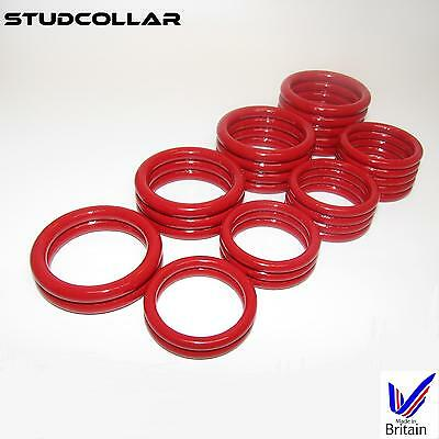 STUDCOLLAR-SUPERMAX-RED - 8 Ring Choices - 32mm and 38mm ID - 1 COLLAR / ORDER