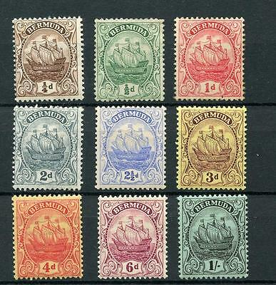 Bermuda 1910-25 set SG44/51 MM