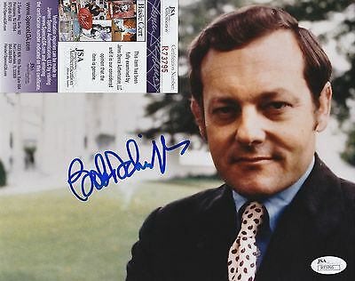 Bob Schieffer Signed 8x10 Photo w JSA COA #R73795 CBS Face The Nation 60 Minutes