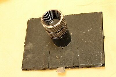 Graflex 4x5 focusing hood for Graflex Speed   with loupe for accurate focusing