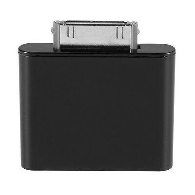 Bluetooth Adapter Dongle Transmitter 30pin Plug for iPod Nano 6th Black TH523