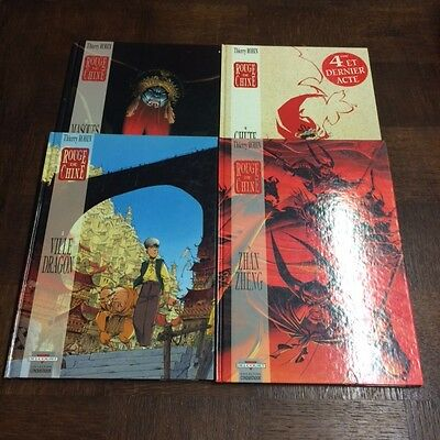 Rouge De Chine Lot Tome 1 A 4 Eo - Thierry Robin