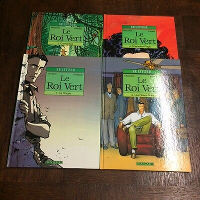 Le Roi Vert Lot Tomes 1 A 4 Eo - Collection Sulitzer