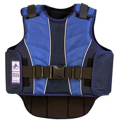 Supra-Flex Body Protector Equestrian Horse Riding Safety Vest Child Youth NAVY