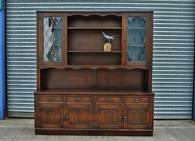 Large Oak Veneer Welsh Dresser Jaycee.