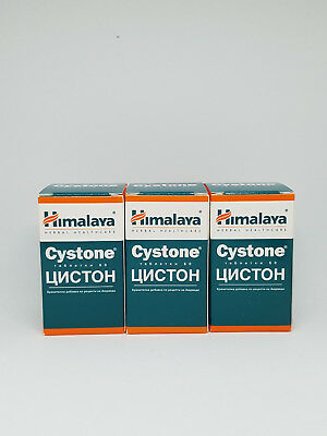 Cystone 3 Jars x60 (180Tablets ) -Kidney Stone Pain Urine Infection Prevention