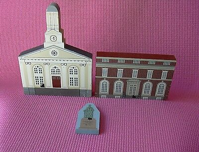 Fauquier County Court House Office Marshall Statue Warrenton VA Cats Meow LOT