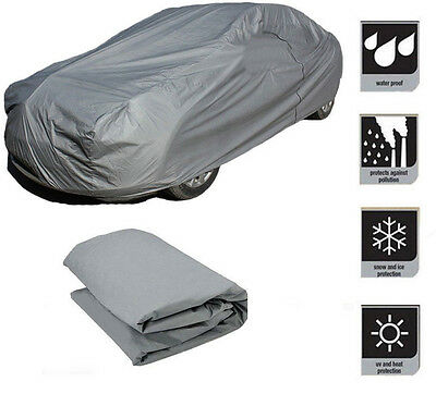 New XL Full Car Cover Heat UV Protection Waterproof Outdoor Dustproof UK Seller