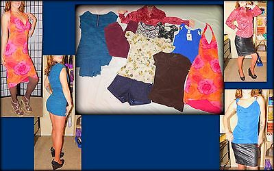 Liz Claiborne & More Women's 10 pc Mixed Lot, Tops, Bottoms, Dress Collection, S