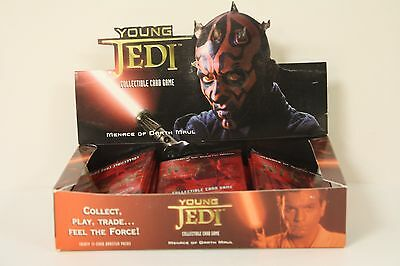 Star Wars - Young Jedi CCG: MENACE OF DARTH MAUL Booster Pack - Decipher - NEW